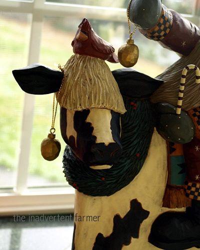Santa cow2