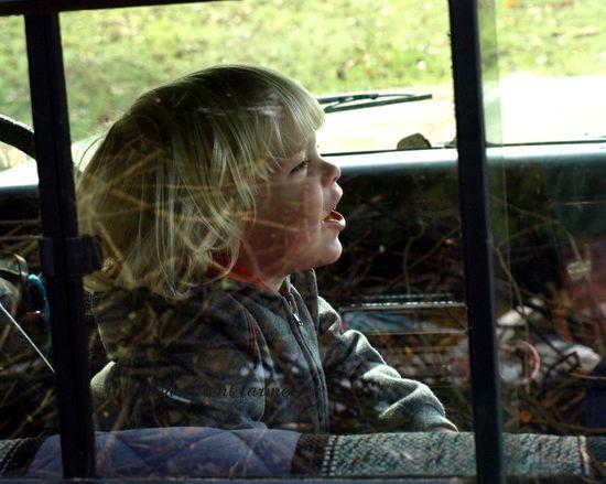 1972 chevy pickup truck green rear window boy blond brush