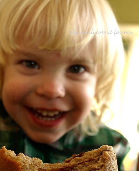 Bread toddler boy
