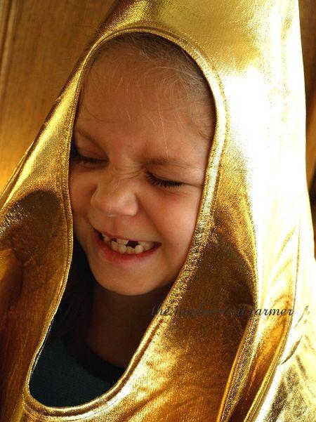 Little girl nativity christmas star costume