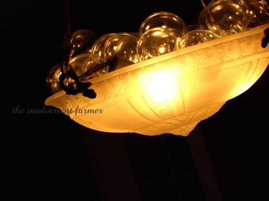Bubble light new years decoration champaigne glass Standard e-mail view