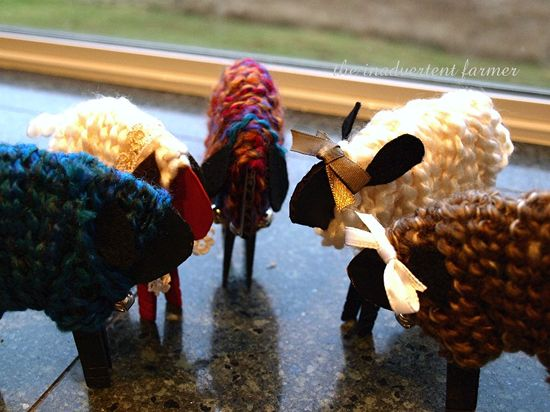 Sheep herd craft kids easy