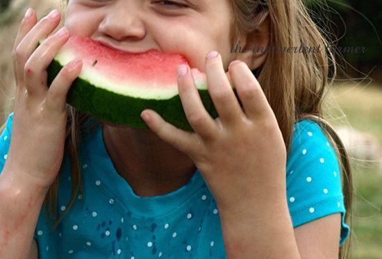 Eating watermelon2