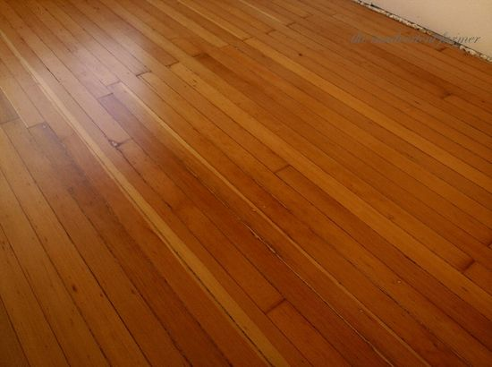 Fir floors refinished remodel