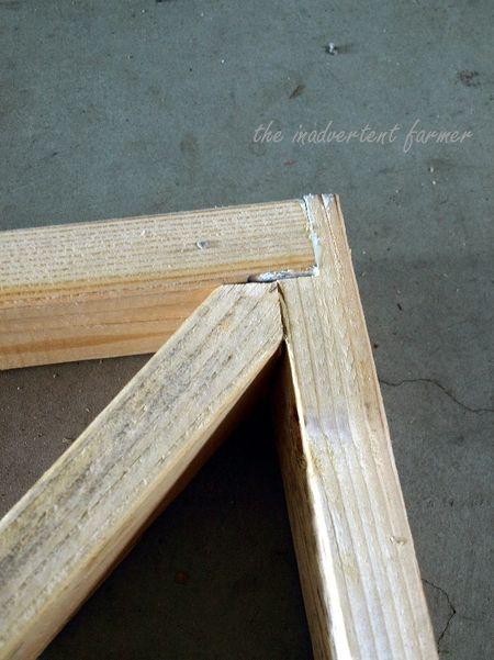 Craft garden gate wood build