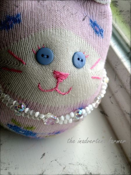 Sock kitty craft1