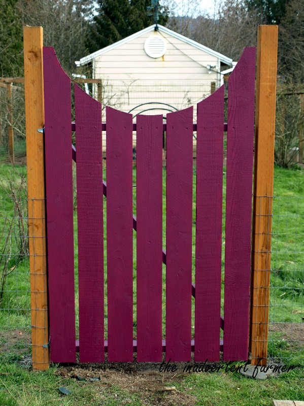 How to make a curved Wooden Garden Gate tutorial The