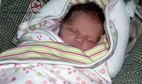 Baby girl home