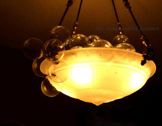 Glass bubble chandelier Standard e-mail view