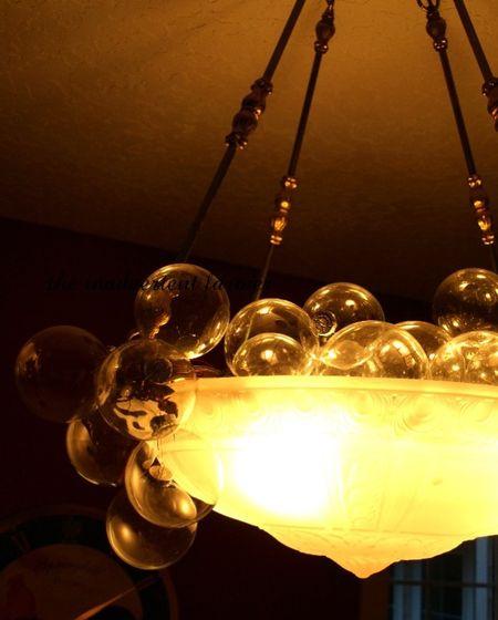 New years decoration champaigne glass light bubbles Standard e-mail view