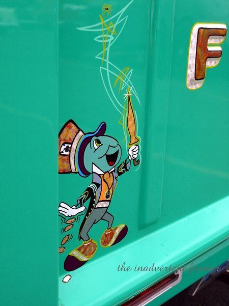 Jimmy cricket ford pickup hotrod truck