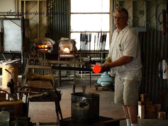 Glass artist seaside oregon glass station
