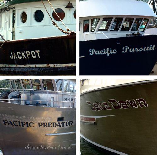 Ship names fishing astoria oregon pacific