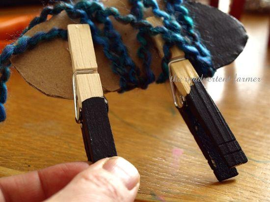 Sheep craft kids yarn easy