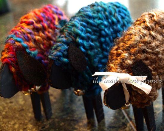 Yarn craft kids sheep