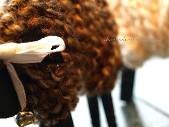Yarn sheep craft children