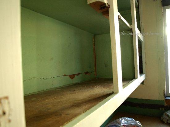 Kitchen cabinet backs remodel