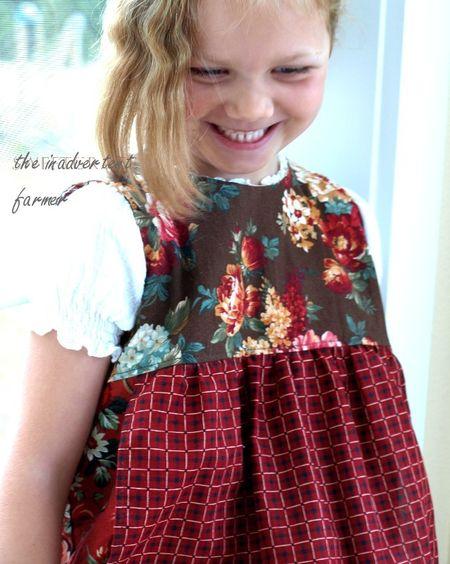 Little girl smiling grinning
