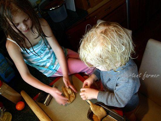 Craft bread dough