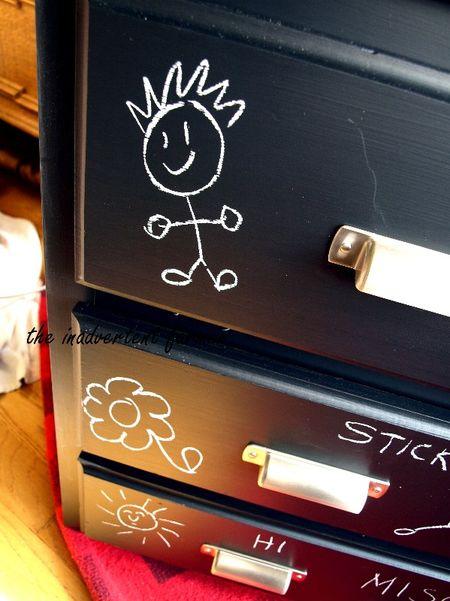 Chalkboard dresser doodle1