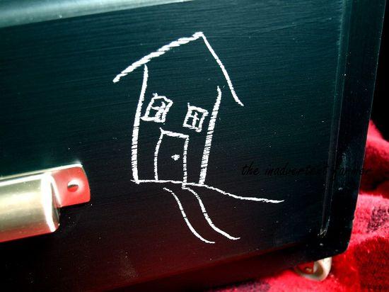 Chalkboard dresser doodle2