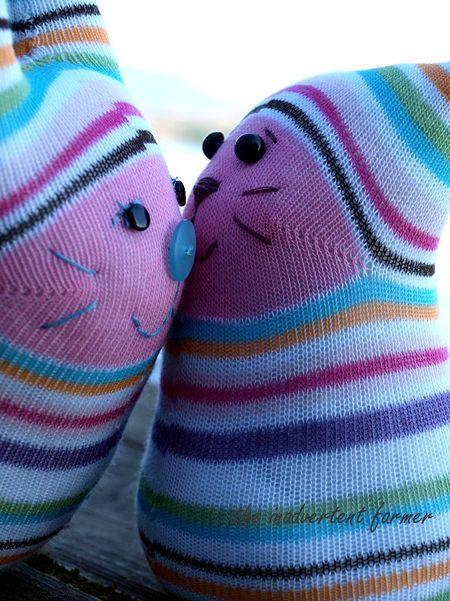 Sock monster kiss lake