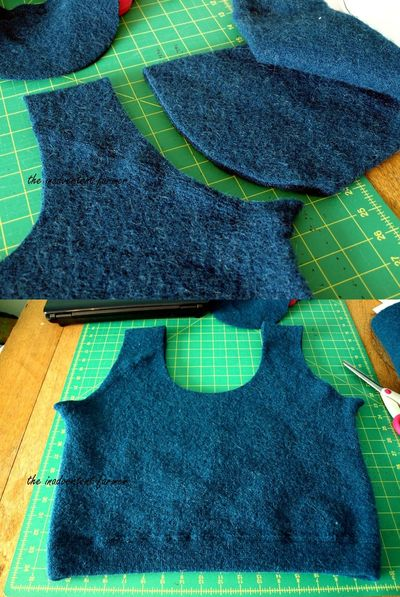 Felted wool sweater laptop bag32