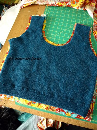Felted wool sweater laptop bag10