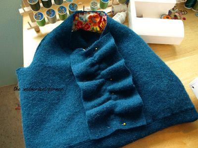 Felted wool sweater laptop bag26