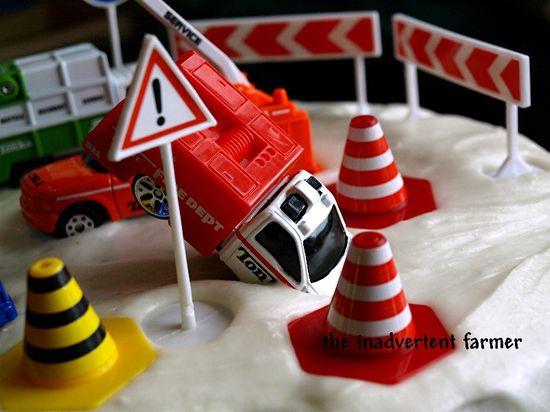 Birthday cake wreck