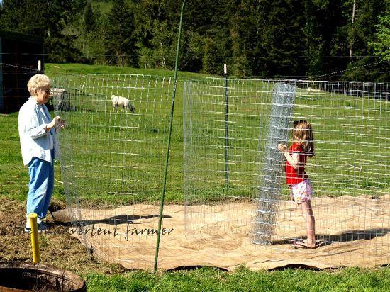 Maze garden helpers
