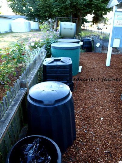 Master gardener compost bins