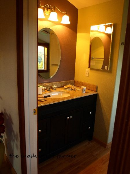 Bathroom vanity apartment