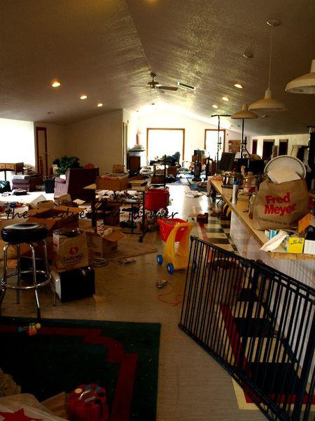 Shop apartment mess