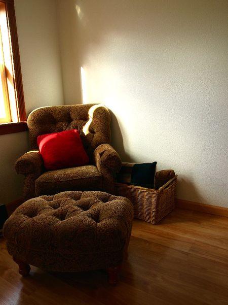Apartment reading nook