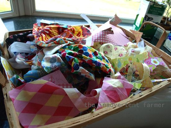 Scrap picture basket