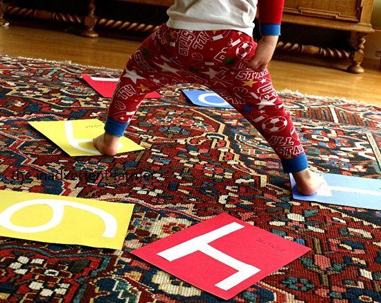 Alphabet twister baby boy