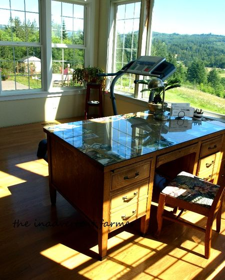 Desk top sunroom