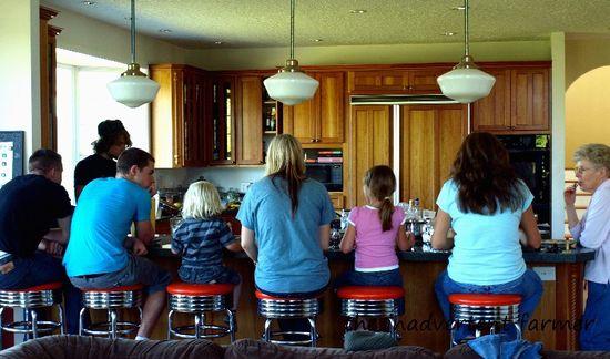 Full kitchen stools