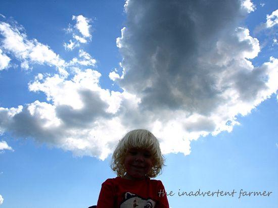 Cloud big sky little boy blue