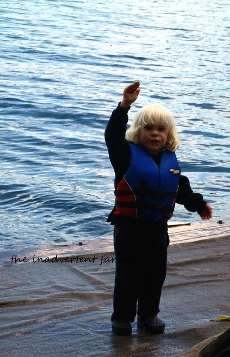 Fishing tale this tall