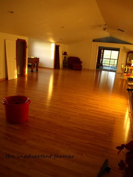 Flooring done
