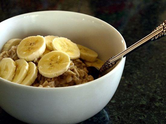 Oatmeal banana coconut