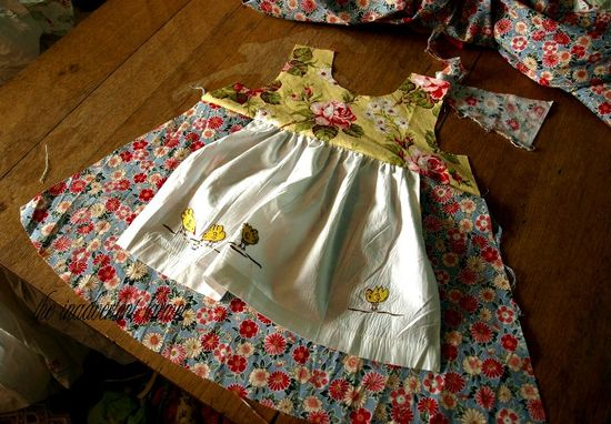 Apron chicken dress pottery barn