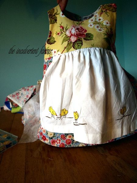 Apron chicken pottery barn dress