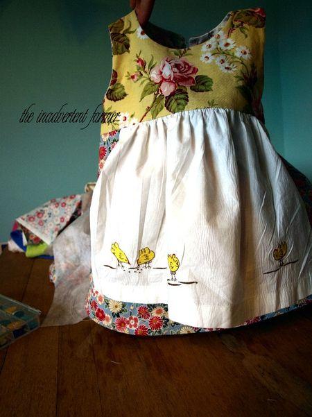 Apron chicken pottery barn dress