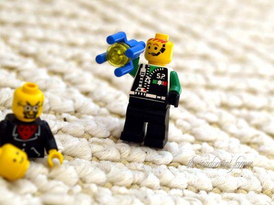Lego hero gun