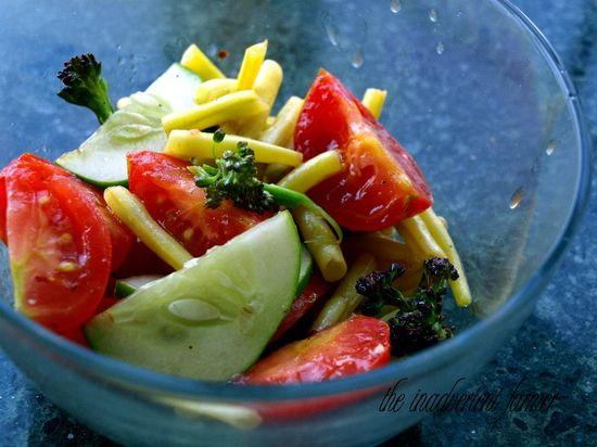 Salad summer garden tomato