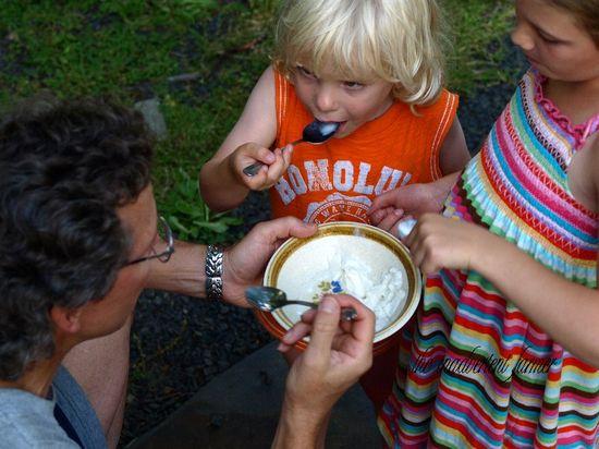 Kids dad ice cream homemade